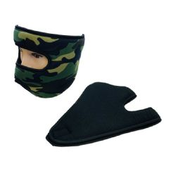 Extra Warm Fleece Wrap-Around Face Mask 24 pack