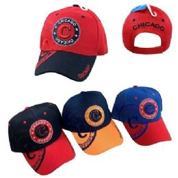 Chicago Shadow Base Ball Cap 36 pack