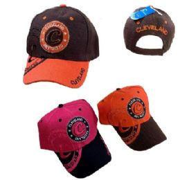 Cleveland Shadow Base Ball Cap 36 pack