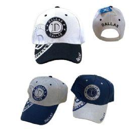 Dallas Shadow Base Ball Cap 36 pack