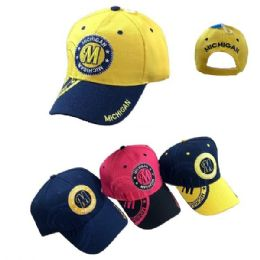 Michigan Shadow Base Ball Cap 36 pack