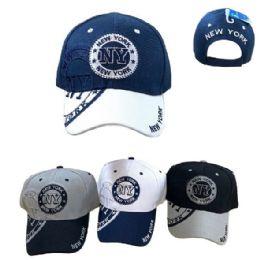 New York Shadow Base Ball Cap 36 pack