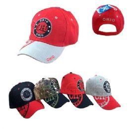 Ohio Shadow Base Ball Cap 36 pack