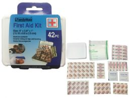 42pc First Aid Kit 144 pack