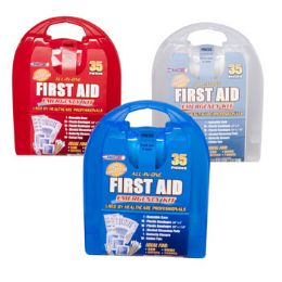 First Aid Kit 35 Pcs In Plastic Case 33 pack