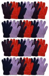 Yacht & Smtih Womens Assorted Colors Warm Fuzzy Gloves