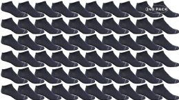 Yacht & Smith Womens Light Weight No Show Low Cut Breathable Ankle Socks Solid Navy