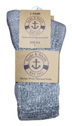 Yacht & Smith Kids Merino Wool Thermal Winter Camping Boot Socks 36 pack