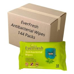 Wipes - EverFresh Anti-Bacterial Wipes 144 pack