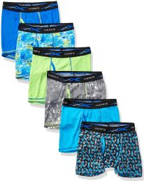 Hanes Boys Boxer Brief Assorted Prints Size Small