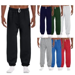 Men's Gildan Sweatpants Assorted Sizes And Colors 24 pack