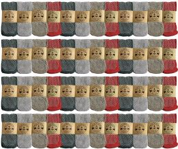Yacht & Smith Womens Thermal Gripper Bottom Winter Socks, Warm Cold Resistant Bulk Pack