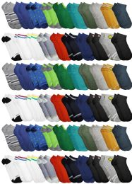 Yacht & Smith Assorted Pack Of Boys Low Cut Printed Ankle Socks Bulk Buy