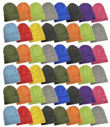 Yacht & Smith Unisex Assorted Neon Bright Colors Winter Warm Beanie Hats