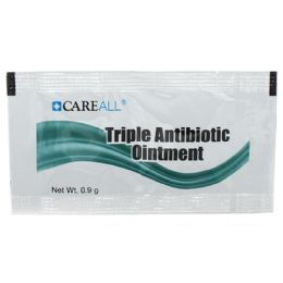 Careall 0.9g Triple Antibiotic Ointment Packet