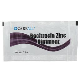 Careall 0.9 G Bacitracin Zinc Ointment Packet