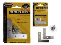 4 Piece Flat Corner Iron Supports