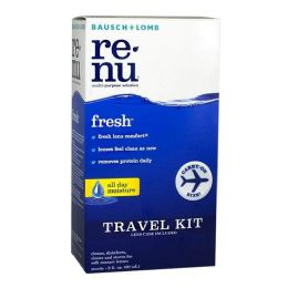 Travel Size Bausch Lomb ReNu Contact Lens Case 2 oz.