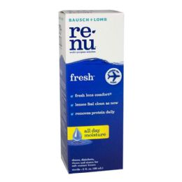 Travel Size Bausch Lomb ReNu Contact Solution 2 oz.