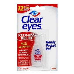 Travel Size Clear Eyes Drops 0.2 oz.