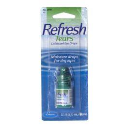 Lubricant Eye Drops - Refresh Tears Lubricant Eye Drops 0.1 Oz.