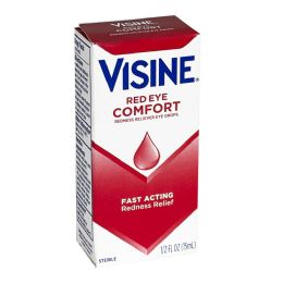 Visine Red Eye Comfort Drops 0.5 Oz.