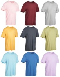 Yacht & Smith Mens Assorted Color Slub T Shirt With Pocket - Size 2XL