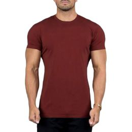 SOCKSNBULK Mens Cotton Crew Neck Short Sleeve T-Shirts Mix Colors Bulk Pack (36 Pack Pocket Tee Slub, 3X-Large)