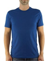 Yacht & Smith Mens Cotton Crew Neck Short Sleeve T-Shirts, Royal Blue, 3X Large