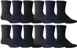 Yacht & Smith Men's Winter Thermal Tube Socks Size 10-13