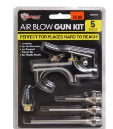 Air Blow Gun Kit 5 Piece