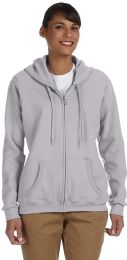 Gildan Womens Zipper Hoodie Assorted Colors And Sizes.
