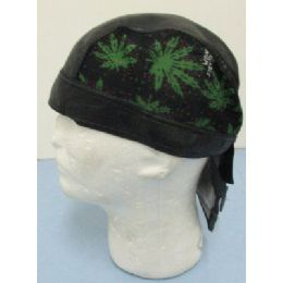 LeatheR-Like Skull CaP-Marijuana 72 pack