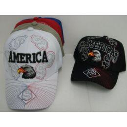 America Eagle Hat 48 pack