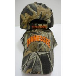 Camo Tennessee Hat 48 pack