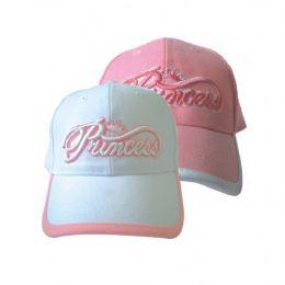 Princess Girls Baseball Cap 144 pack