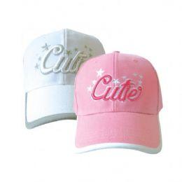Cutie Girls Basevall Cap 144 pack