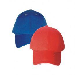 Plain Baseball Cap Assorted Colors