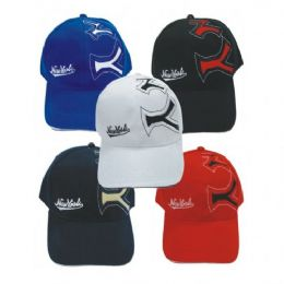 Ny Design Baseball Cap Assorted Colors 144 pack