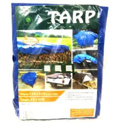 8x10 Blue Tarp 20 pack