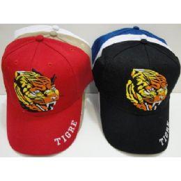 "Tigre"" Hat 72 pack"