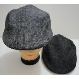 Gray Tweed Hat 72 pack