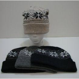 Knit Snowflake Toboggan 120 pack