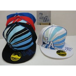 Fitted HaT--La With Bling 72 pack