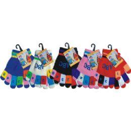 Kids Magic Glove With Snow Flake Print 120 pack
