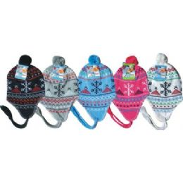 Fleeced Lined Winter Hat 96 pack