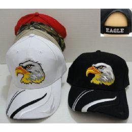 Eagle Head Hat [stripes On Bill]