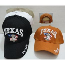 Texas Hat With Boot/hat/flag 60 pack
