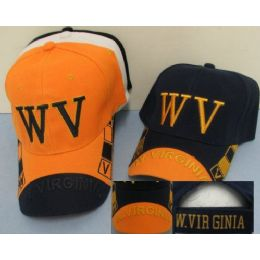 West Virginia Hat (2) [w.virginia On Bill] 24 pack