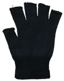 Black Fingerless Magic Glove Unisex - One Size Fits All 36 pack
